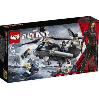 LEGO® Super Heroes - Fekete özvegy helikopteres üldözése (76162)