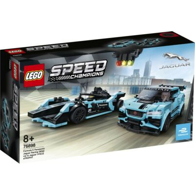 LEGO® Speed Champions - Formula E Panasonic Jaguar Racing GEN2 car & Jaguar I-PACE eTROPHY (76898)